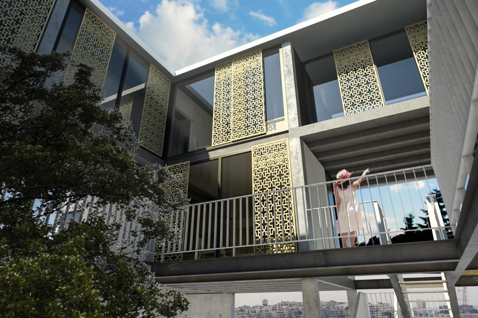 Syria   Post War Housing