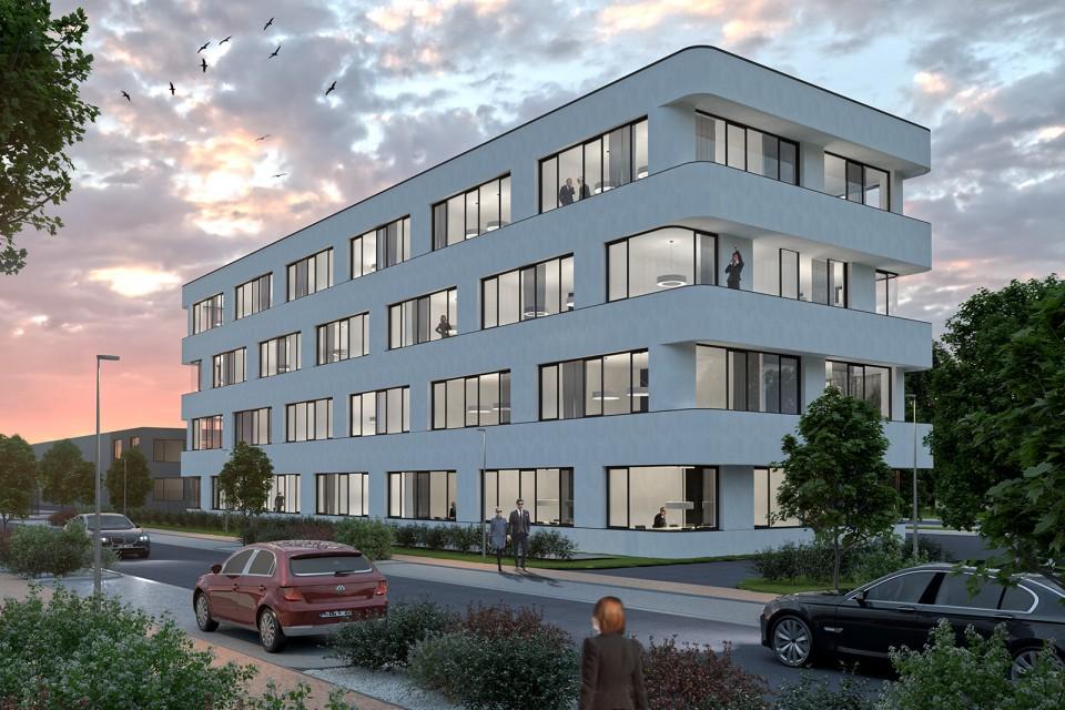 Büroneubau| Schütte-Lanz-Park Brühl | Visualisierung