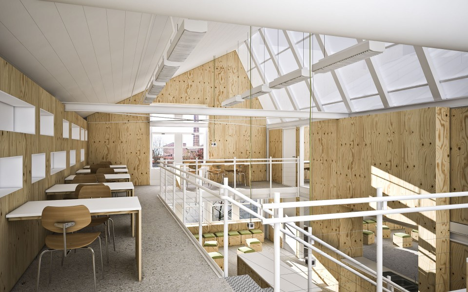 Arbeitsräume FH Kaiserslautern | Innenarchitektur | Wettbewerb