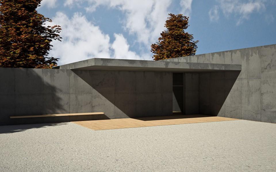Aussegnungshalle Architektur | Innenarchitektur | Visualisierung