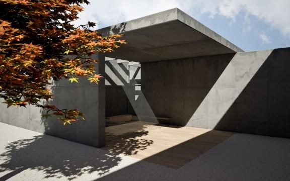 Aussegnungshalle | Architekturvisualisierung