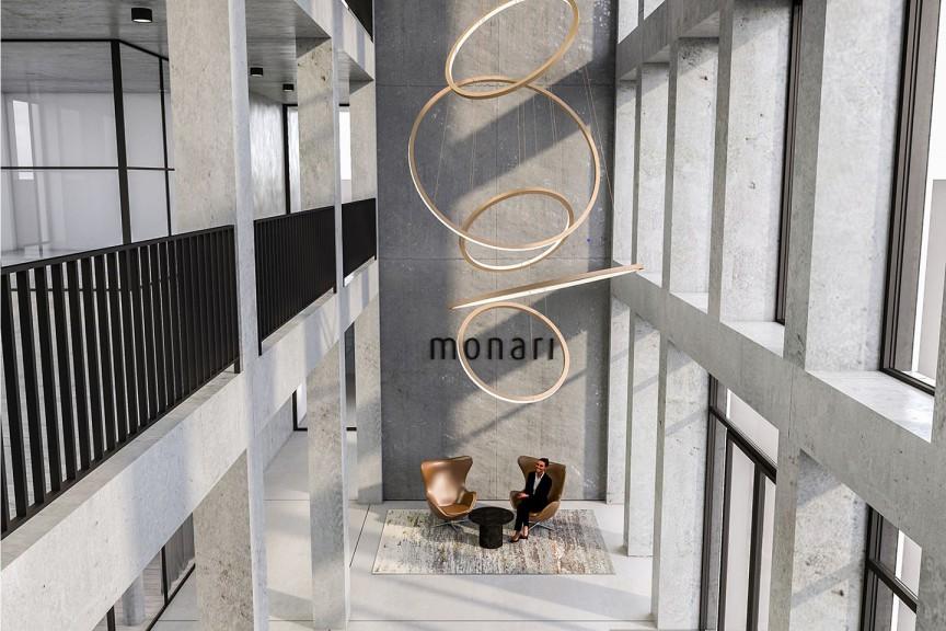Verwaltung Textilunternehmen Innenarchitektur | Monari