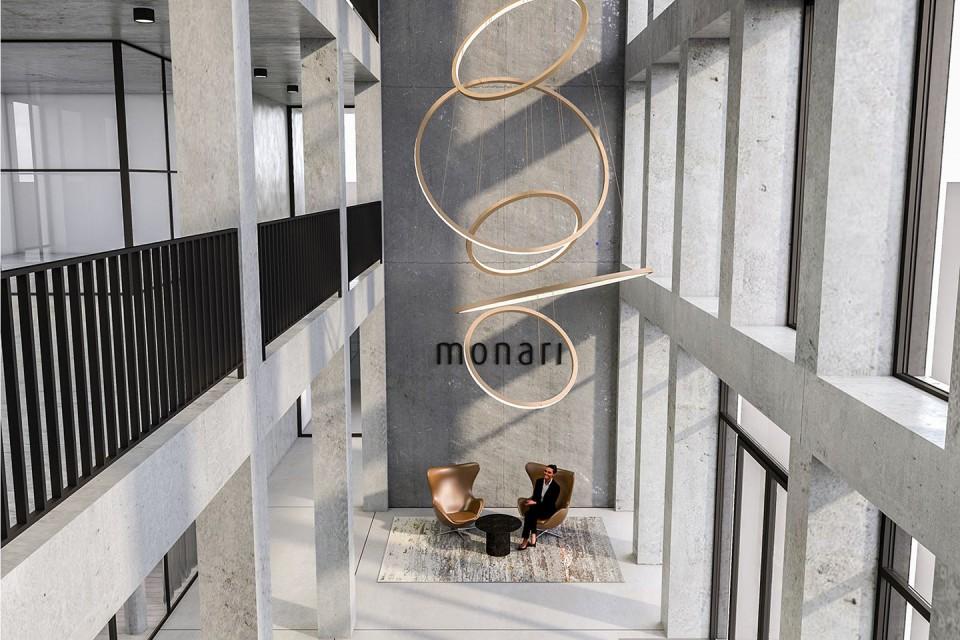 Innenarchitektur - Architekturvisualisierung | Verwaltung Textilunternehmen Monari