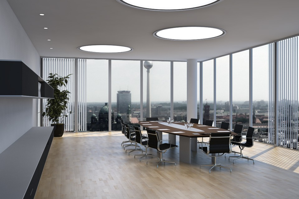 Meeting Room | Besprechungsraum | Innenarchitektur Visualisierung