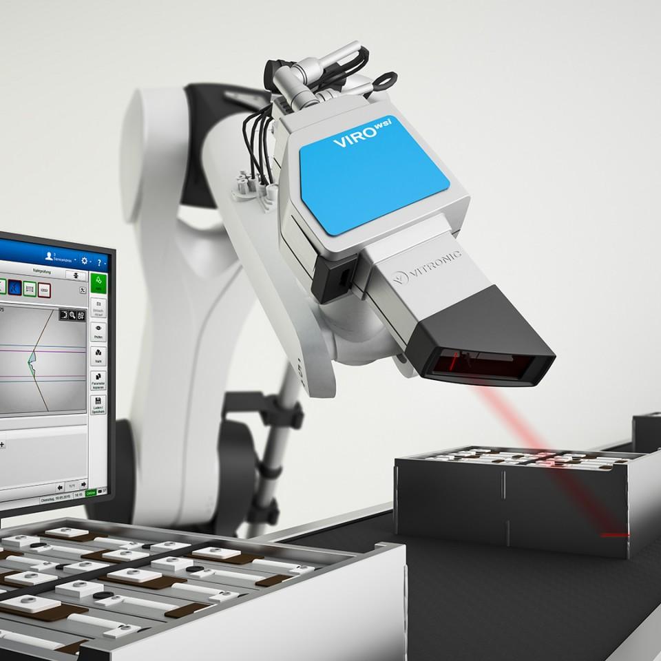 Vitronic WSI Sensor | Produktvisualisierung
