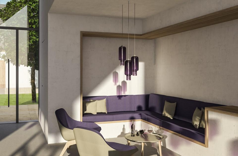 Innenarchitektur Wohnhaus | Weingut Gästehaus Knab