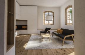 Wohnhaus Innenarchitektur | Weingut