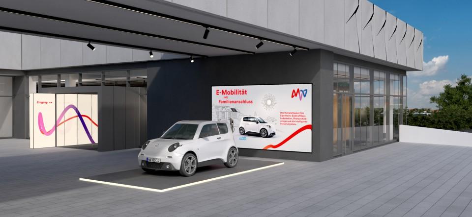 MVV E-Forum Kundenforum Mannheim | Architekturvisualisierung