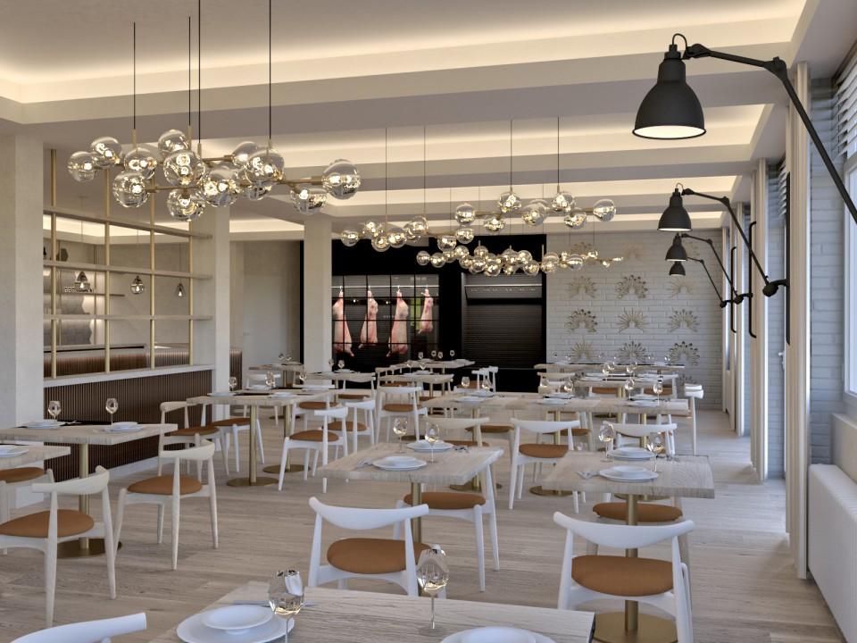 Restaurant - Paladion   Visualisierung   Innenarchitektur